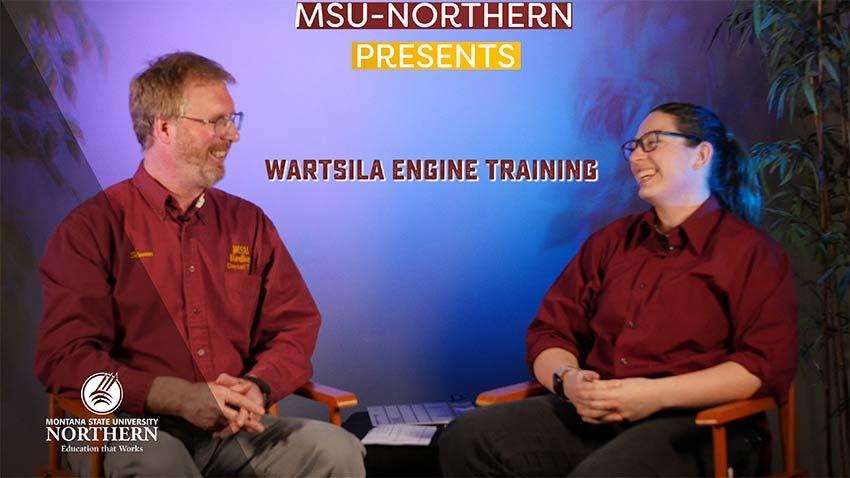 Click to watch this short video about MSU-Northern students training with Wartsila.
