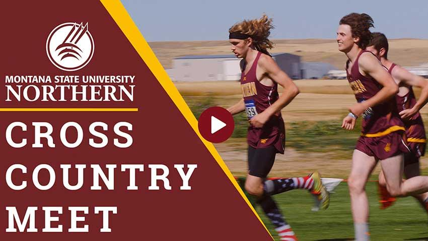MSU-Northern hosted its first official cross country meet with 7 teams from around the state joining us in Havre for a day of running and friendly competition.