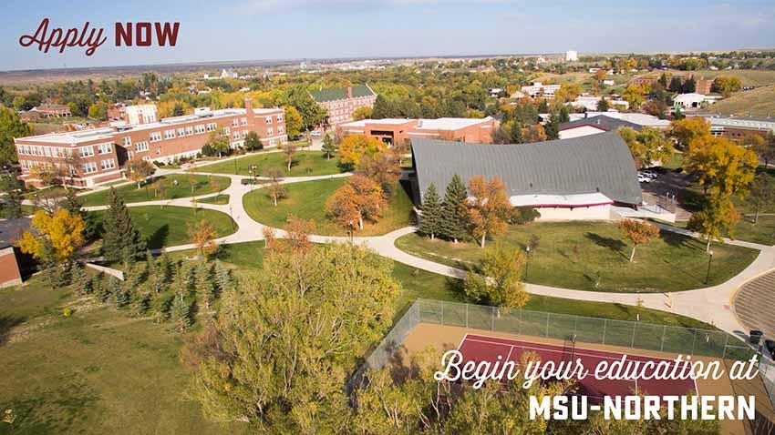 Click to apply to MSU-Northern.