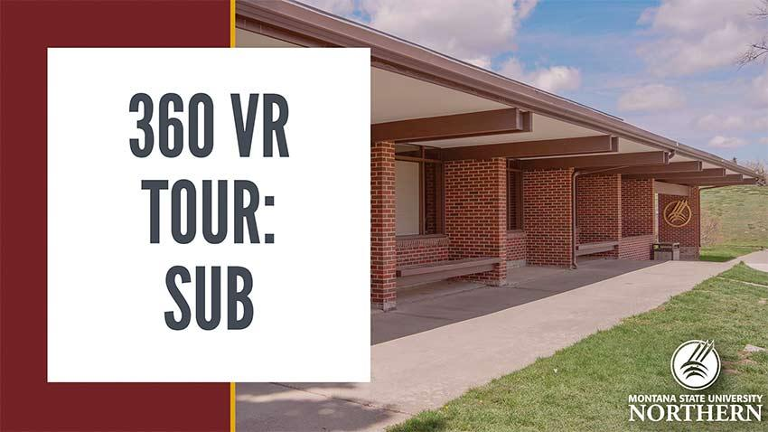 Take a tour of MSU-Northern's Student Union Building!  Use your mouse to click and drag around the video frame to explore the space, or try moving your mobile device around to look in all directions. If you've got a VR (Virtual Reality) Headset, try using it to watch this video for an immersive experince.
