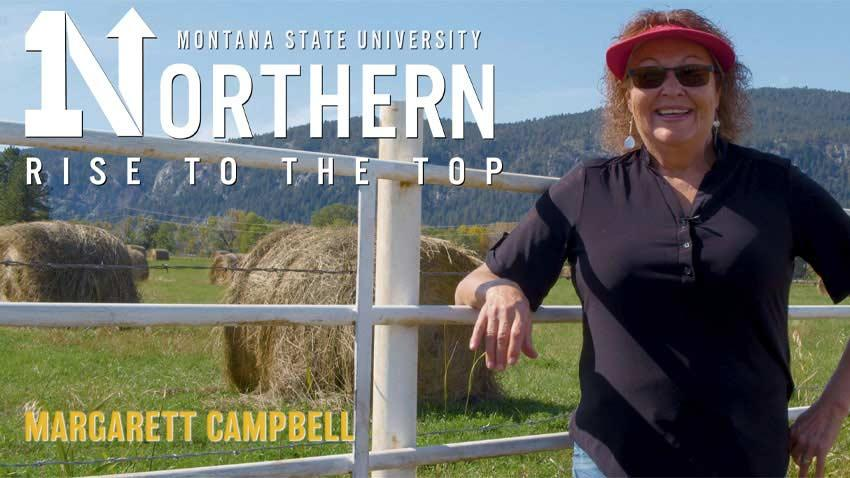 Margarett Cambell shares her story and talks about how MSU-Northern helped her rise to the top.