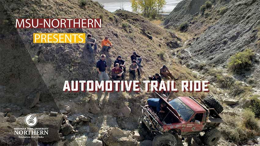Watch this short video as Automotive faculty discuss the 4x4 trail ride that was sponsored by their program and the Cultural Development Committee.