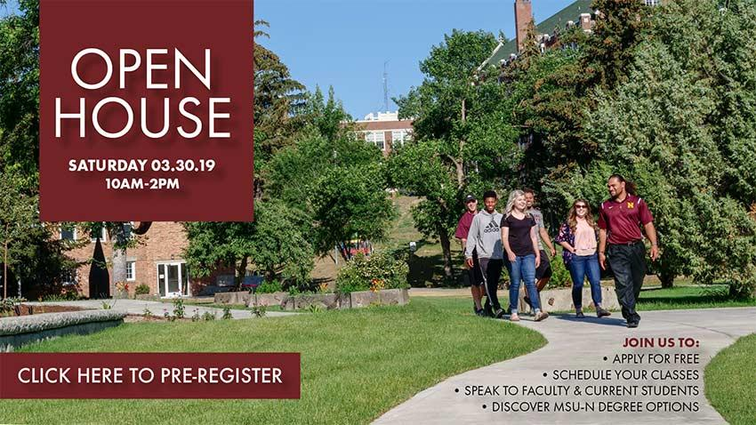 MSU-Northern Open House for New-to-MSU students