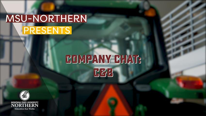 Watch this short video as Director of Industry Relations Mary Heller chats with CEO of C&B Operations Matt Cronin about C&B's recent visit to Northern and the partnership they've established with the university.