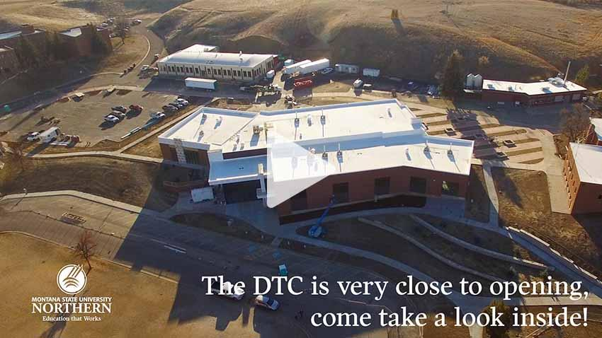 Watch this short video about progress on the Diesel Technology Center construction.