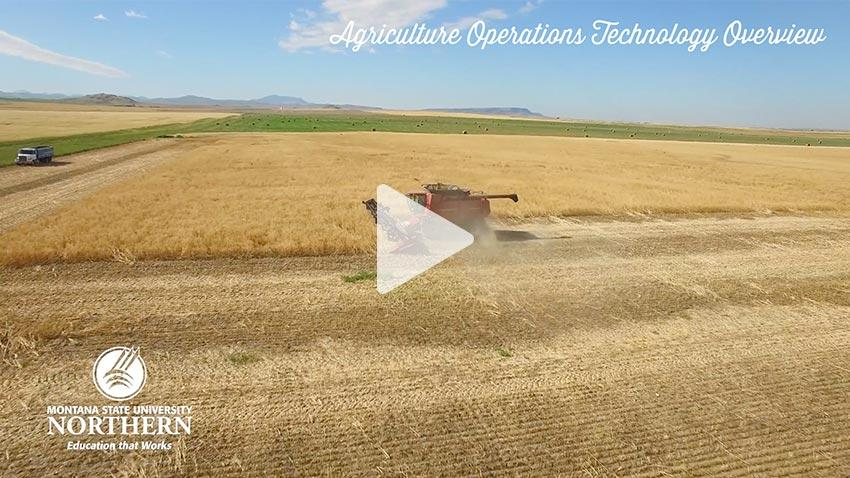 Watch this short video about the Agriculture Operations Technology Program