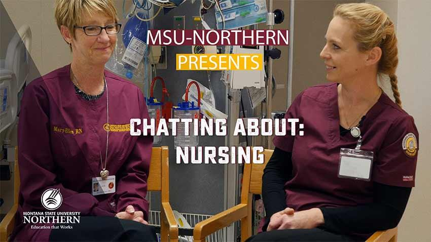 Click to watch this short video about MSU-Northern's Nursing program.