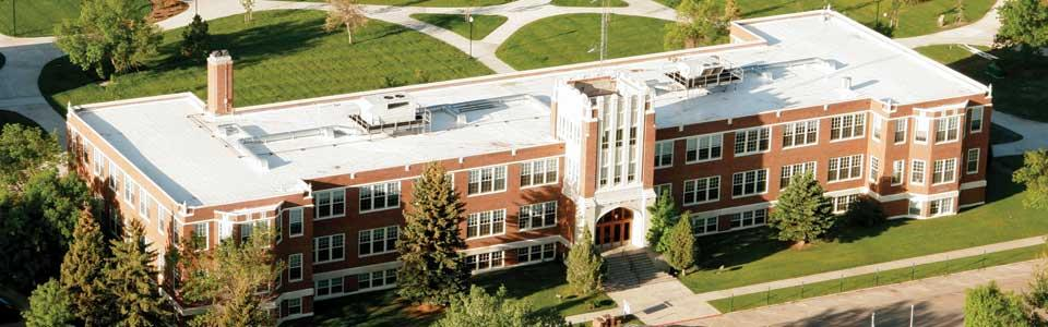 Cowan Hall on MSU Northern campus.