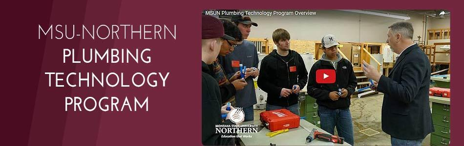 Click to view video - MSUN Plumbing Program Overview
