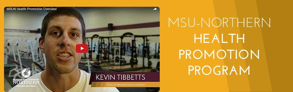 Click to view video - MSUN Health Promotion Program Overview