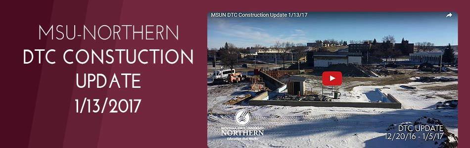 Click to view video - MSUN Diesel Technology Center Construction Update 13-Jan-2017