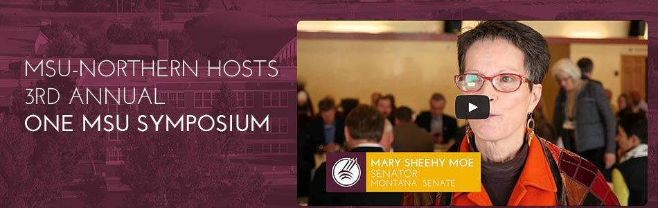 Click to view video -One MSU Symposium