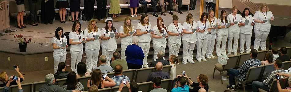 Nursing Graduates Pinning Ceremony
