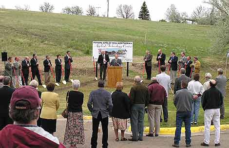 ATC Groundbreaking, May 21st 2004