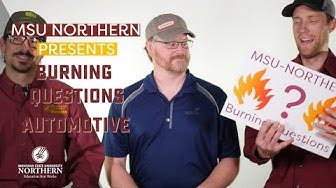 MSU-Northern presents Burning Questions Automotive, 3 instructors