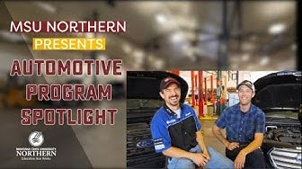 MSU-Northern Program presents Automotive Program Spotlight, 2 instructors