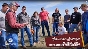 MSU-Northern Agriculture Operations Technology classroom video