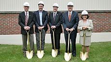 Ground Breaking for the MSU-Northern Diesel Technology Center