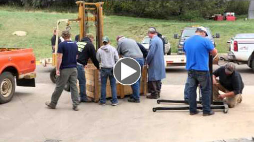 Video Link: Donation of Tools memorializing Northern Alumnus Brian Bosch - Click to View