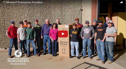 Video Link: Silverwolf Enterprises Donation - Click to View