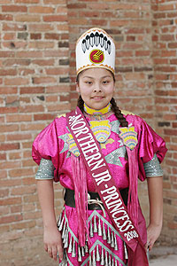 Miss Indian MSUN Jr. Princess 2007-2008