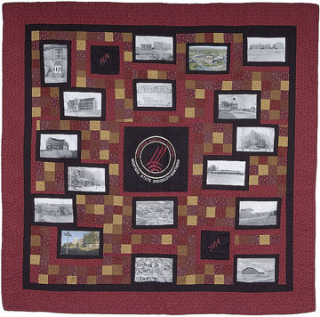 75th Anniversary Quilt - Click for Larger image