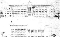 Original Plans for Cowan Hall