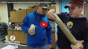 MSU-Northern Agriculture Operations Technology program video