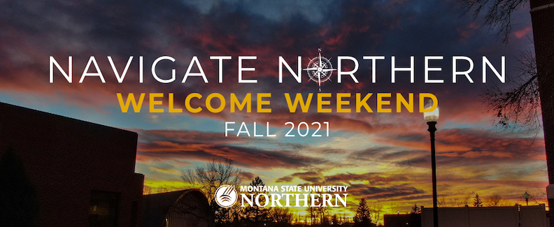Welcome Weekend Fall 2021