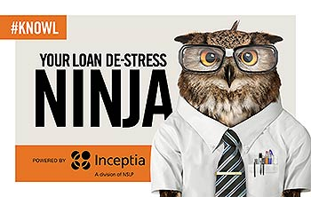 Your Loan De-Stress Ninja powered by Inceptia, a division of NSLP