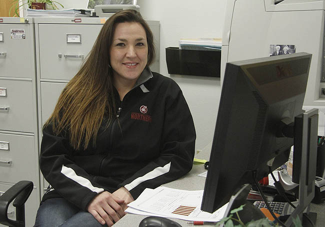 Caralee Fortin, MSU-Northern Diesel Technology student