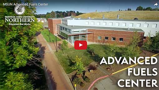 Video Link: MSU-Northern's Advanced Fuels Center - Click to View