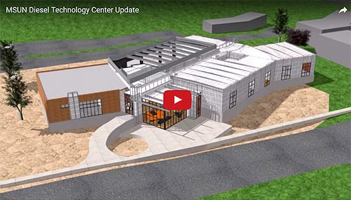Video Link: MSU-Northern Diesel Technology Center Update - Click to View