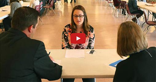 Video Link: MSU-Northern Mock Interviews for Education Students - Click to View
