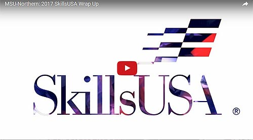 Video Link: MSU-Northern hosts 46th annual SkillsUSA competition - Click to View