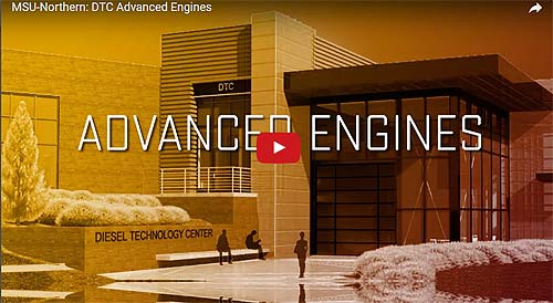 Video Link: Diesel Technology Center Construction Update - Click to View