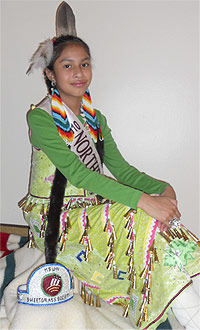 Miss Indian MSUN Jr. Princess 2010-2011